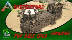 Ark Pve Base Designs Ark Se Pve Base Design Idea Pve Showcase Youtube