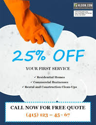 House Cleaning Services Flyers 14 Free Cleaning Flyer Templates House Or Business Hloom