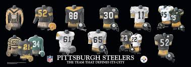 And Uniforms Pittsburgh Steelers Heritage Jerseys Team History Uniform