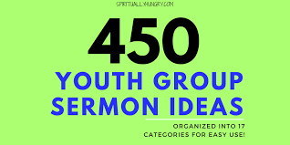 Youth Revival Scriptures 450 Topics For Youth Sermons Spiritually Hungry