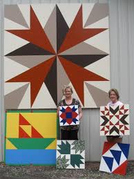 Barn quilts color the countryside