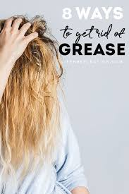 how to stop greasy hair with oily hair
