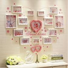 2019 photo frame vintage good wood wall frames picture frame ideas family baby love memory home porta retrato branco set from cindy668 142 72 dhgate com