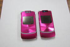 motorola razr pink. motorola razr v3xx (unlocked) pink gsm not working or part razr o