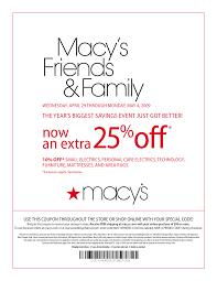Macys coupons 2017