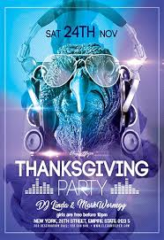 thanksgiving party flyer thanksgiving v02 flyer psd template facebook cover by