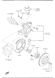 2001 Mazda Mpv Parts Diagram
