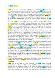 leeds city реферат по иностранным языкам на английском языке  leeds city реферат по иностранным языкам на английском языке скачать бесплатно город Лидс герб команда