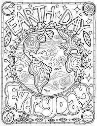 Free Earth Day Coloring Page - Earth Day Every Day!
