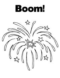 Small Picture Exploding Fireworks Coloring Page Download Print Online