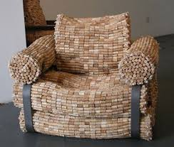 furniture made from recycled materials. this oneu0027s made out of corks recycle chair cork furniture from recycled materials e