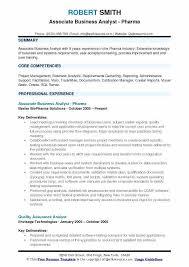 Resume Builder Login Associate Business Analyst Samples – Hadenough
