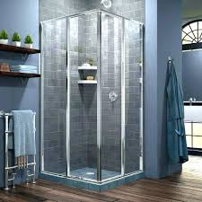 corner shower kit kits stalls base 1 for small bathrooms