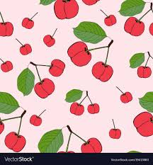 Cherry Pattern Awesome Decorating Design
