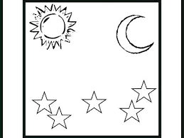 Creation Coloring Pages Seven Days Of Creation Coloring Pages 6