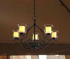 pillar candle chandeliers pillar candle chandelier restoration faux pillar candle chandelier lighting