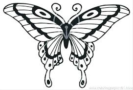 Butterfly Coloring Pages For Toddlers Butterfly Coloring Pages For