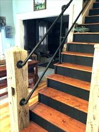 exterior wooden stair railing designs deck handrail how to build stairs step outdoor ideas reclaimed barn