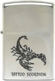 <b>Zippo</b> Classic <b>205 Tattoo Scorpion</b> (silver) - отзывы <b>Zippo</b> Classic ...