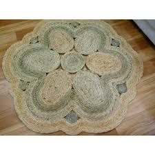 full size of round braided rugs enviro plait braided jute round circle erfly natural green