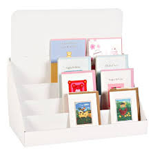 Cardboard Book Display Stand Adorable Stylish Inch 32 Tier Cardboard Counter Display Stand Book Display
