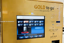 Gold To Go Vending Machine Enchanting Gold To Go Vending Machine In Burj Khalifa In Dubai United Arab