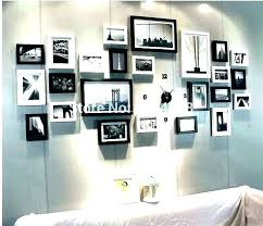 picture frame wall collage