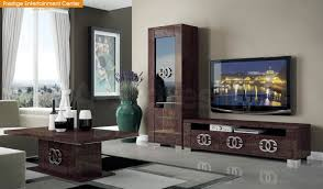 modern wall unit – glass wall units for dining room tv wall unit