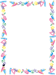 Kindergarten Borders Kindergarten Banner Transparent Download Borders Rr Collections