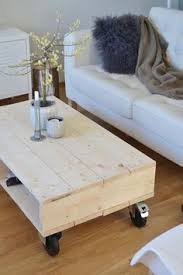 simple coffee table design love the modern industrial look of this