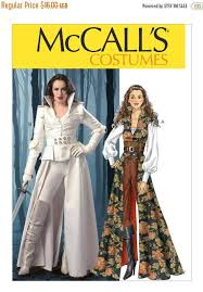 Mccalls Costume Patterns Simple FABULOUS For CosplayCollared Coats Tops Corset And Belt Costume