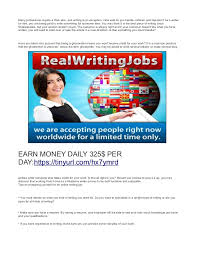 writing jobs work at home earn daily 5