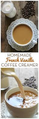 this homemade french vanilla coffee creamer only takes 5 minutes to make and is such a kitchen
