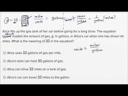 Interpreting Linear Functions Harder Example Video