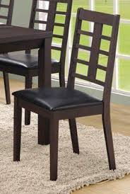 side chair set of 2 by monarch specialties inc 191 07 2 dining