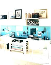 home office cool office. Dual Desk Home Office Desks And Accessories Teal Cool Furniture E