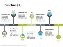 a timeline template free timeline keynote template