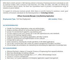 Career Brac Bank Limited Post Title Officer Associate