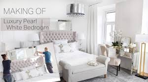 Making Of Luxury Bedroom Luxus Schlafzimmer Pearl White Pure Velvet