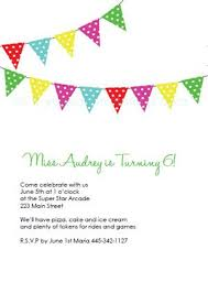 Party Invites Templates Free Free Customizable Bunting Printable Birthday Party Invitations Diy