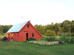amish metal roofing and barn traditional shed unity maine90