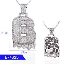 china whole hip hop men s fashion custom jewelry 925 sterling silver iced out diamond letter pendants china rapper pendant hip hop pendant cz