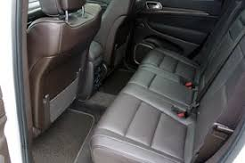 you won t find a third row of seats in the grand cherokee so if your clan is larger than five you ll have to look elsewhere