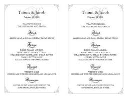 wedding reception program templates free download wedding reception template wedding reception templates free