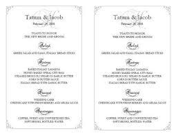 wedding reception program templates free download wedding reception template wedding reception templates free