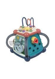 Rattle dapat digantung dan dapat juga dipegang untuk mainan. Jual Toylogy Mainan Edukasi Anak Bayi Balita Magic Box Clock Drum Music 7in1 Game Original Zalora Indonesia