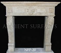 a tudor style limestone fireplace mantel a contemporary simple hand carved