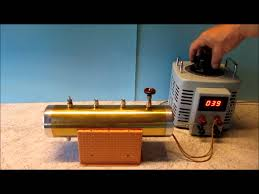 homemade electric boiler for steam engines first test
