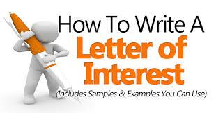 Letter Of Interest Template For Internal Job Prepasaintdenis Com