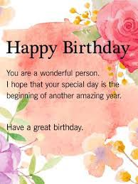 Image Result For Happy Birthday Message Ideas For The House